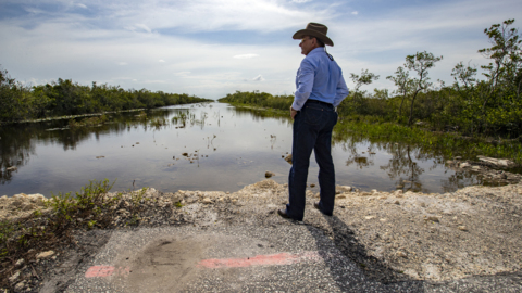 Completion of old Tamiami Trail roadbed removal in the Florida Everglades