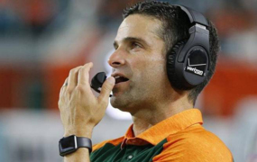 Canes D-Coordinator Manny Diaz pleasantly surprised by a UM defense that brought the fire in spring