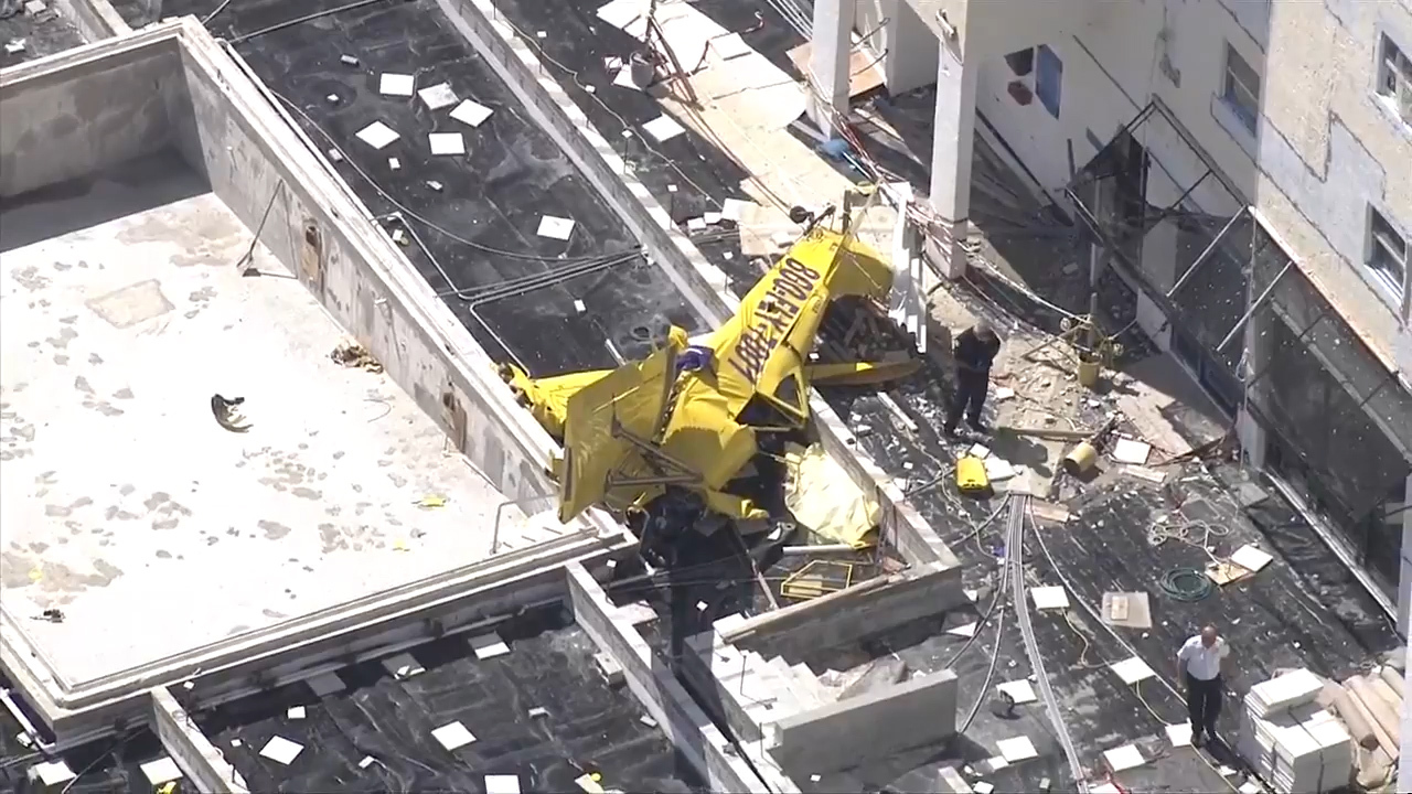 Plane crashes into Fort Lauderdale condo