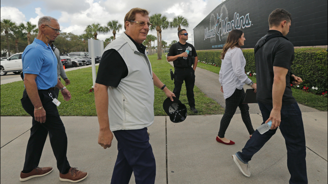 'We are here for the long term,' Marlins owner Bruce Sherman says