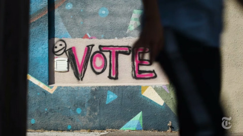 Swing state voters look to the future