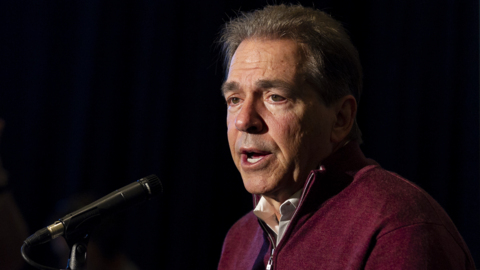 Nick Saban talks about recruiting in South Florida