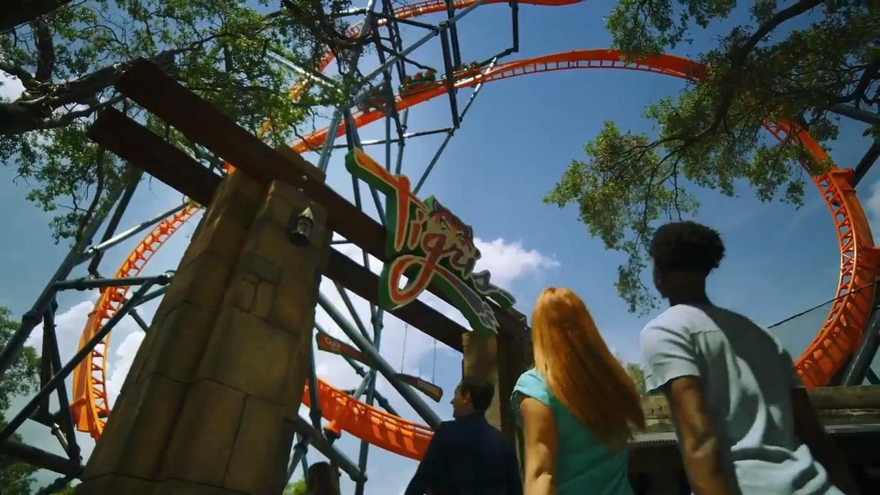 Zowie! Here's what it's like to ride Busch Gardens' new roller coaster