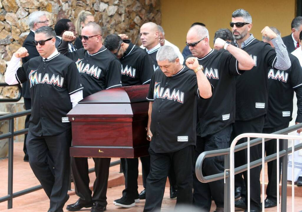 Jose Fernandez mourned by family and friends at private funeral