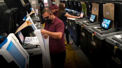 More than 50,000 people have voted by mail in Manatee. Starting Monday, you can vote in person
