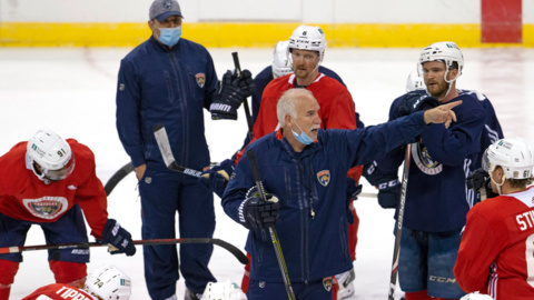 Panthers coach Quenneville says team has more balance and more depth going into season