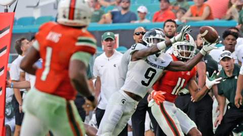 """""""Disappointed in our performance,"""" Miami coach Manny Diaz said."""