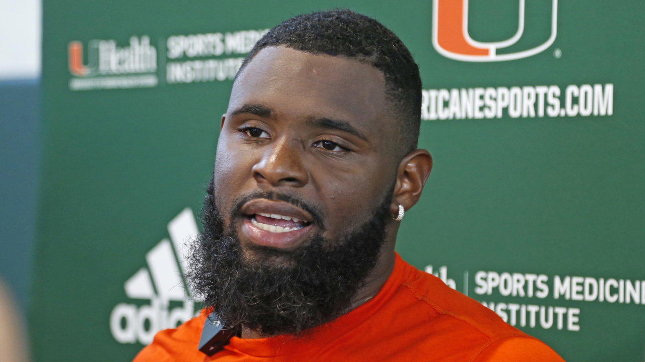 Miami star on pumped defense: 'Nobody does a great job of it like how Coach Diaz does it'