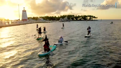 Watch these witches on the water in the Florida Keys