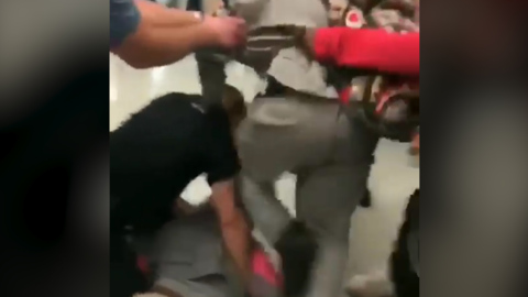 Homestead High student kicked cop in the face, video shows