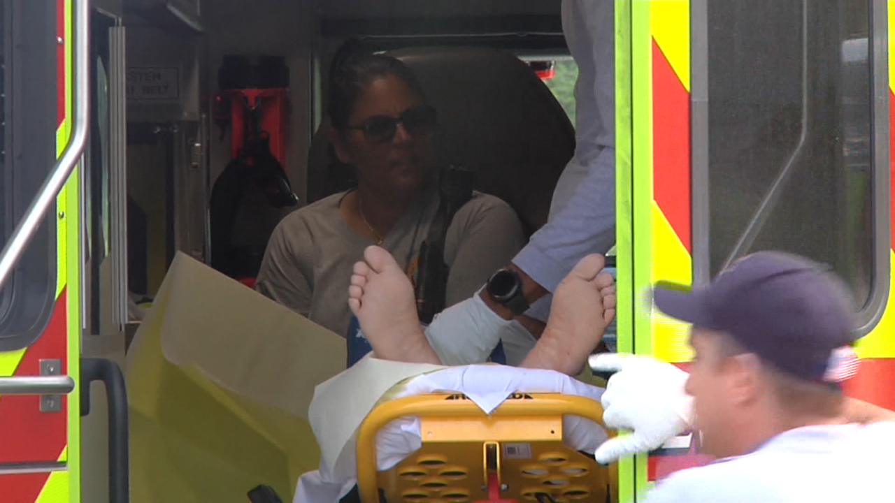 Possible shark attack at a Miami-Dade beach. A man has been hospitalized