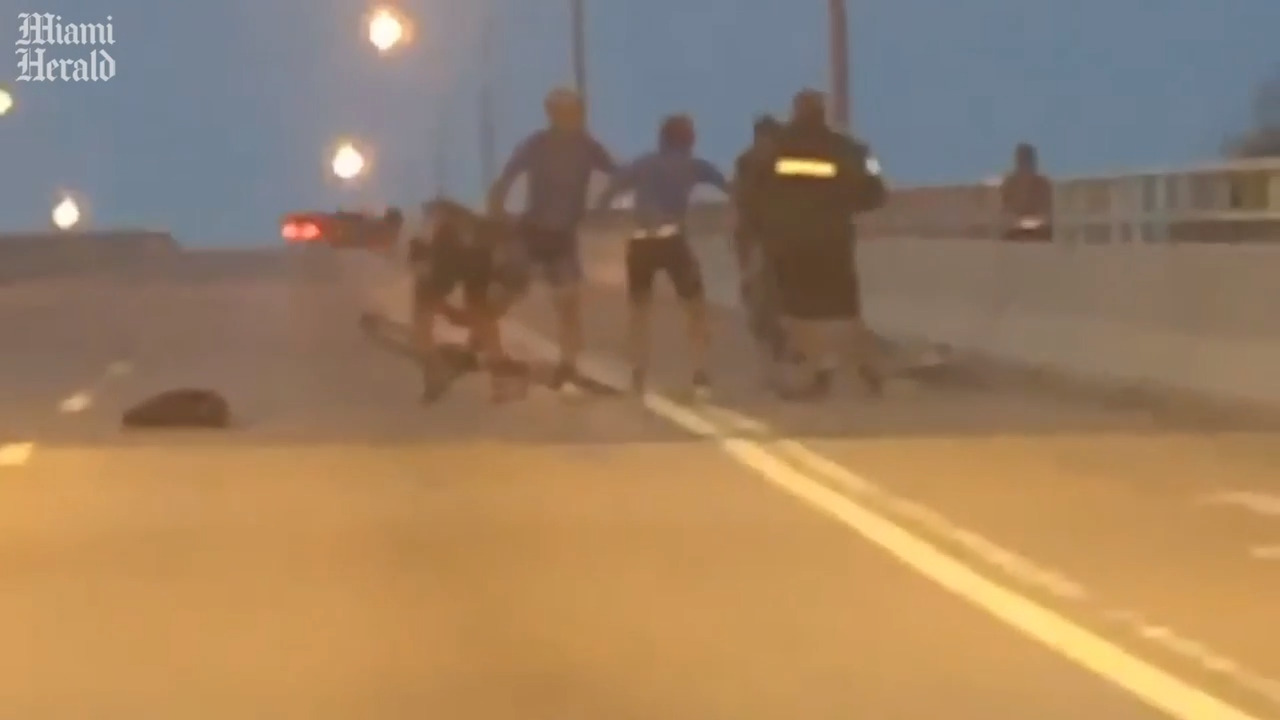 Police trying to determine if shooting of cyclist on causeway was case of self-defense