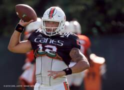 Canes' QB Rosier speaks about improving his game