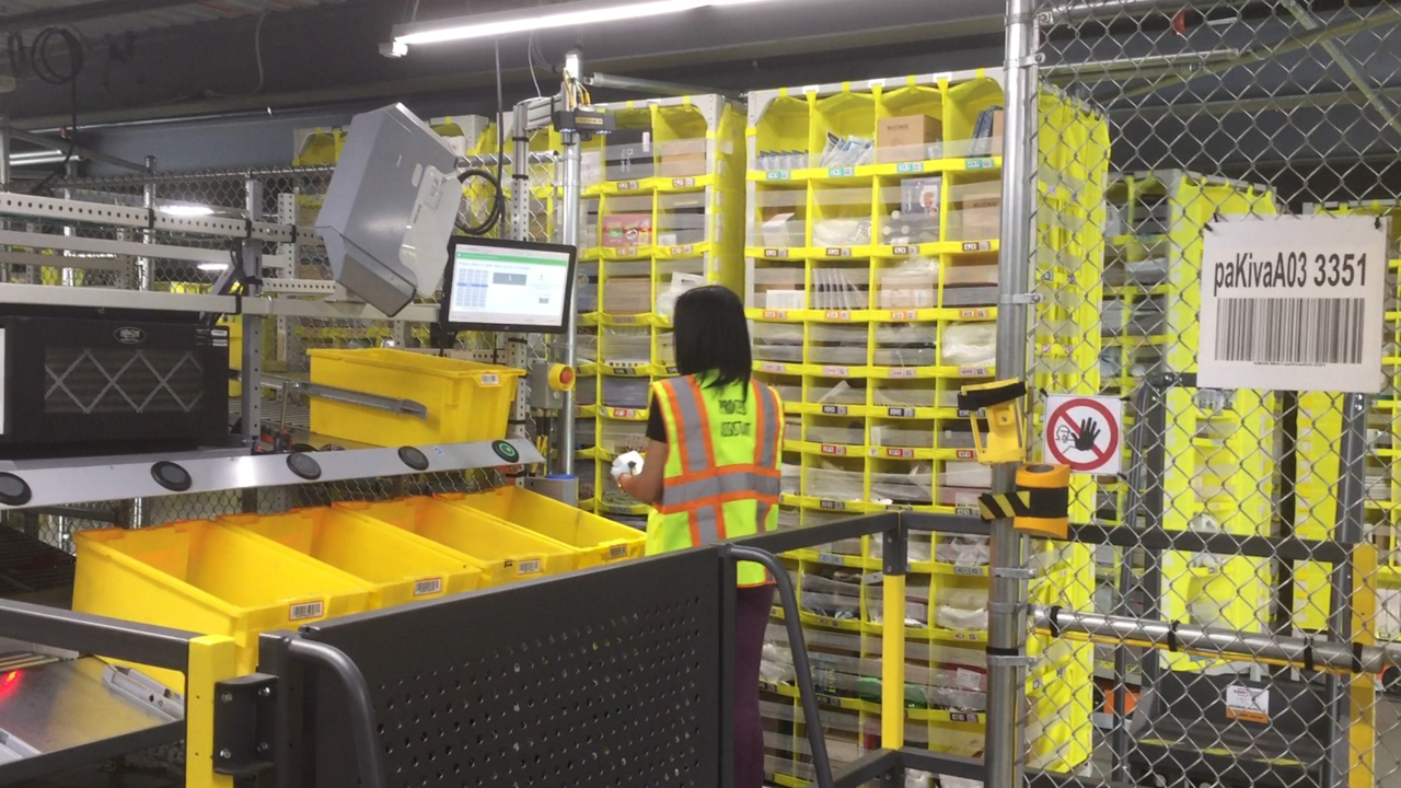 Amazon opens doors to Miami-area fulfillment center. It's as big as 14 football fields
