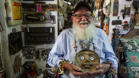 Cuban outsider artist 'Gallo' discuses inspiration for his work