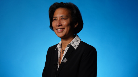 Kim Ng introduces herself for the first time as the Miami Marlins GM