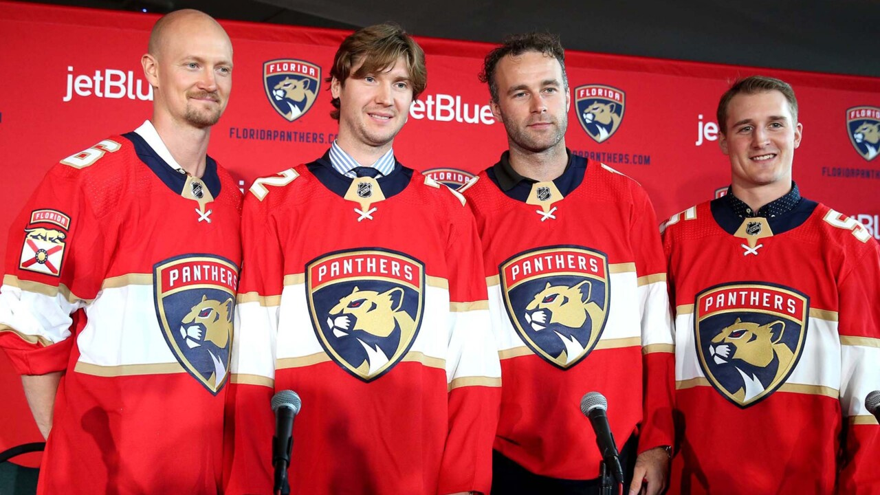 Quenneville, and now Bobrovsky, mean Panthers have high hopes. They also have zero excuses | Opinion