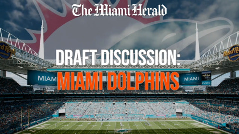 The Dolphins had 15 picks in the NFL Draft. These are drafts they wanted to replicate