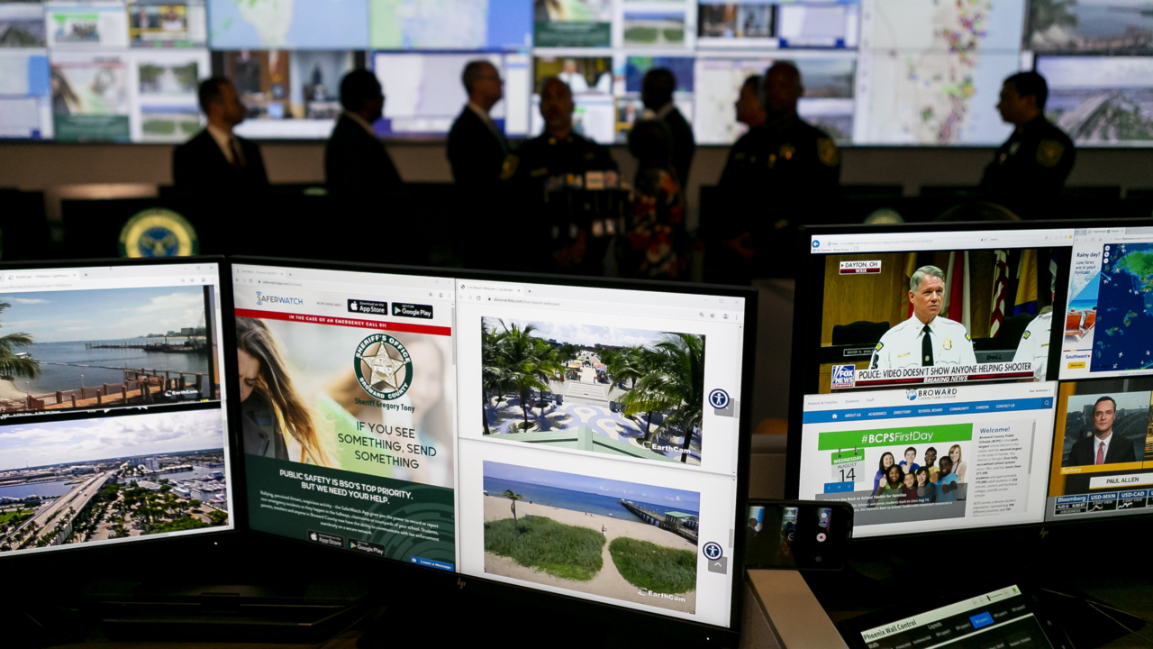 If there's a threat on a Broward School campus, BSO can now see it in real time
