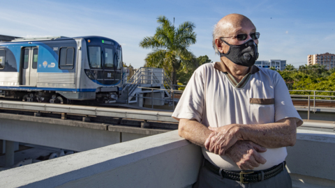 Vizcaya Roads residents are irritated since Miami-Dade removed acoustic barriers for metrorail