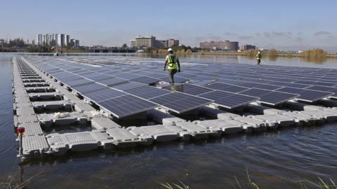FPL and Miami-Dade launch floating solar array