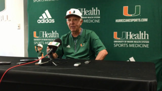 Hurricanes coach Jim Morris talks from the heart about his final home game