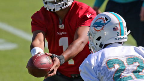 Dolphins coach Brian Flores explains how they are evaluating Tua's injury