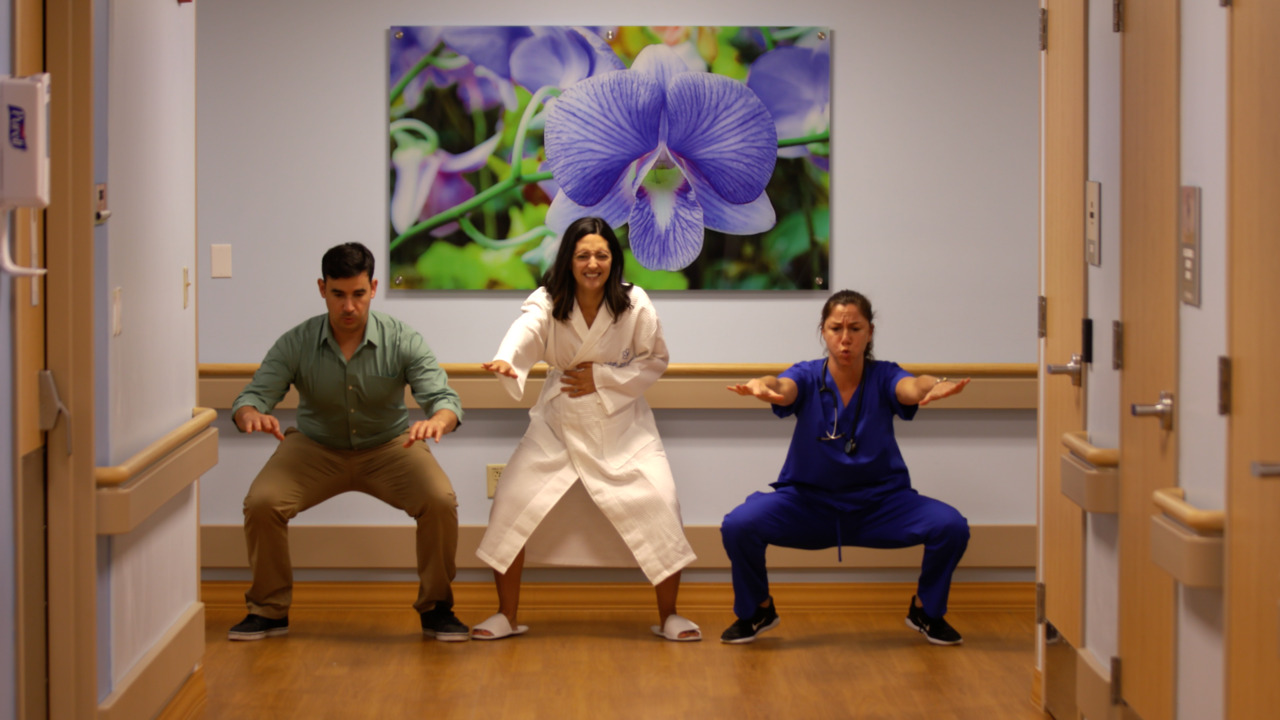 This is what happens when a serious Miami hospital finds humor in the maternity ward