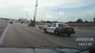 Domestic dispute involving Miramar officer leads to aggressive driving on I-75
