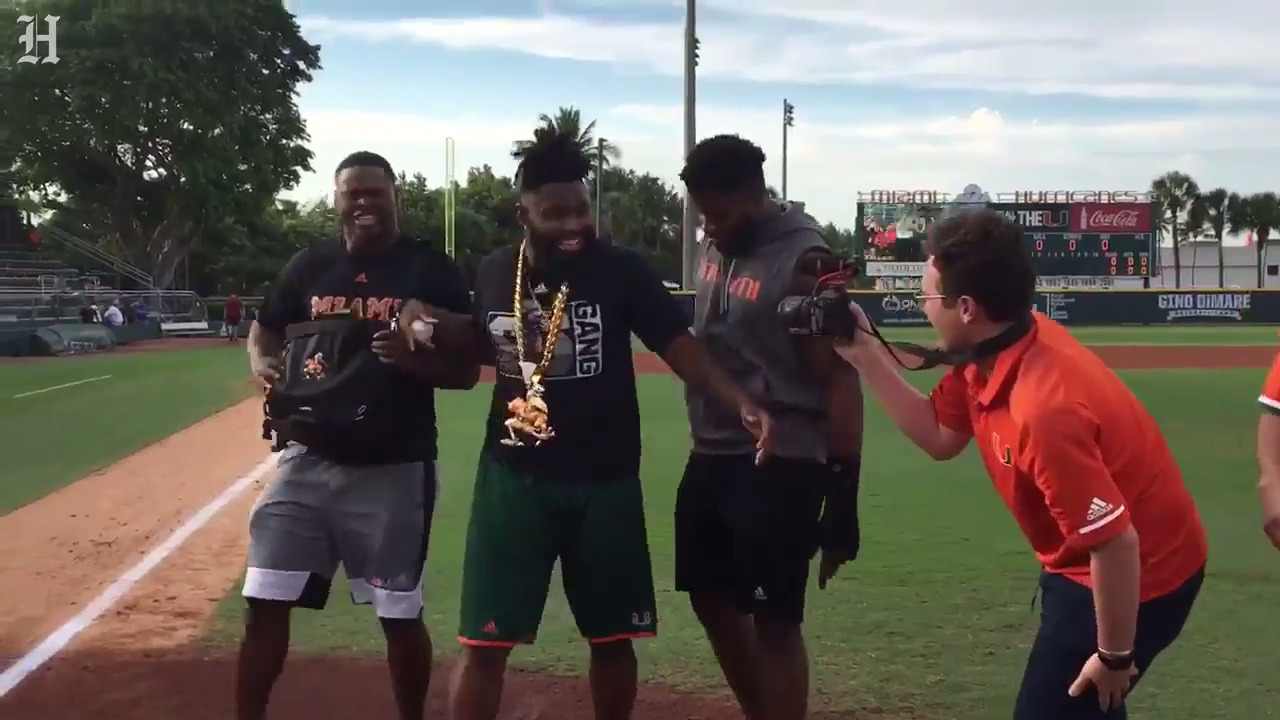 The Hurricanes' new turnover chain is as perfectly Miami as you could have hoped