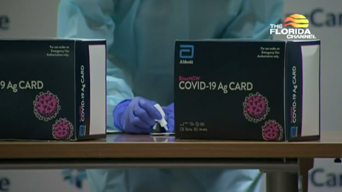 Surge of rapid tests coming soon for Florida's seniors and students, DeSantis says