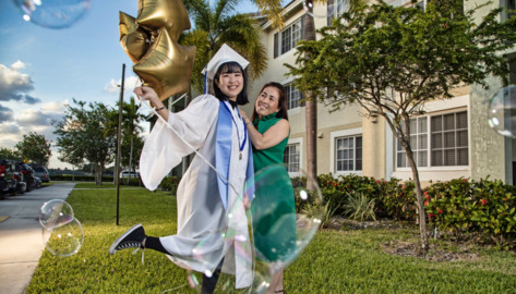 South Dade High grad is off to the Big Apple, if coronavirus gets out of the way