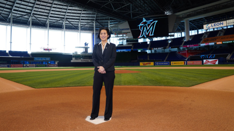 Marlins' GM Kim Ng on her perseverance to become the first woman GM in MLB