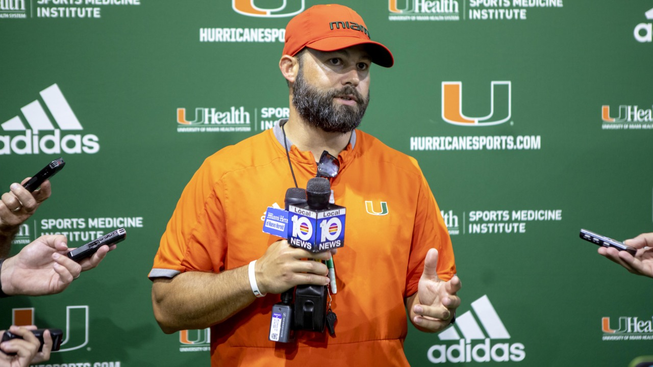Miami will reportedly be without a potential starter in opener against Florida Gators