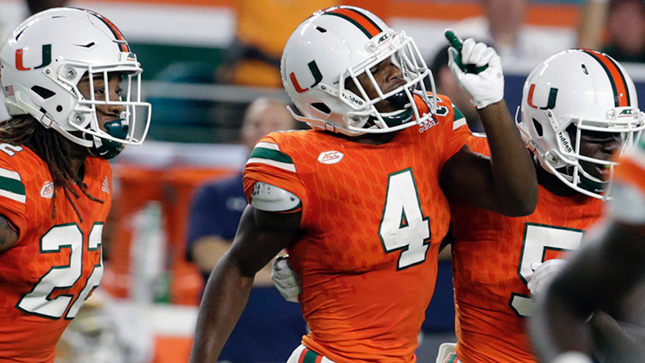 UM Hurricanes safety Jaquan Johnson (hamstring) wasn t faking ... 6a117a65c