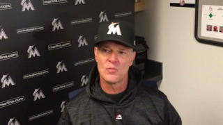 Marlins manager Don Mattingly happy with win over Yankees