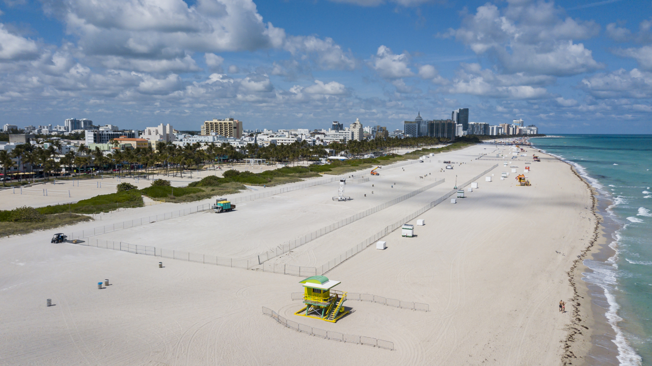 Masks mandatory: Miami-Dade beaches to reopen amid COVID-19, but with new rules