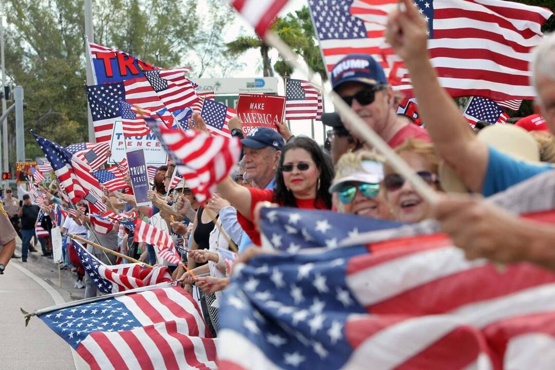 About 2,000 Trump supporters rally at Tropical Park — 'Cubans for Trump'
