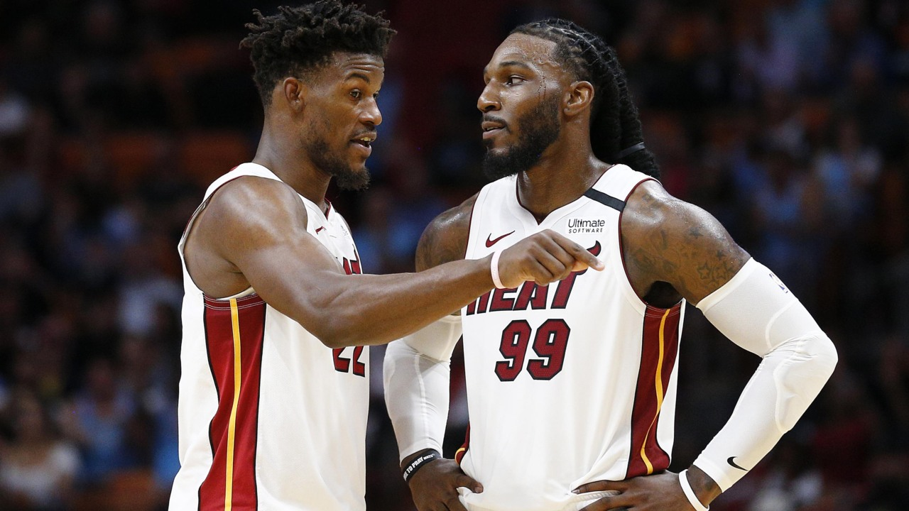 Heat Forward Jae Crowder On The Absence Of Jimmy Butler From Sunday S Practice Miami Herald