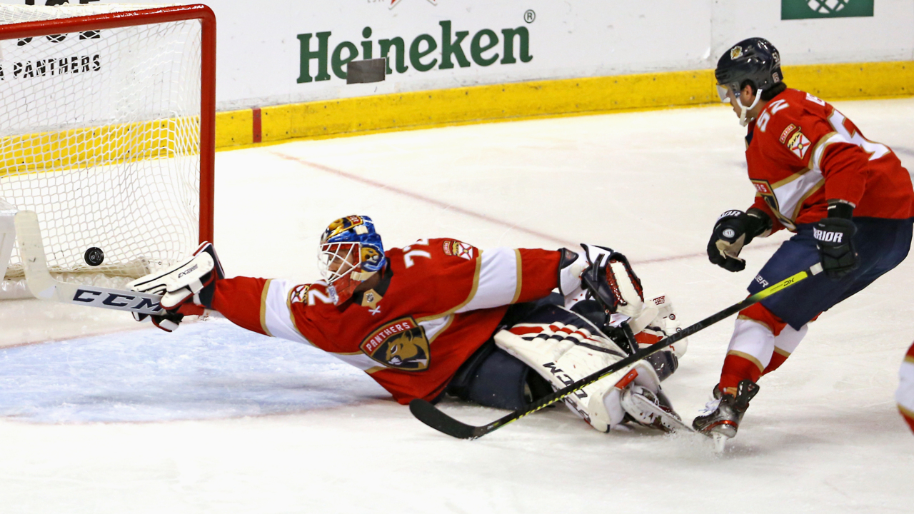Panthers' offense stays cold in loss to Islanders