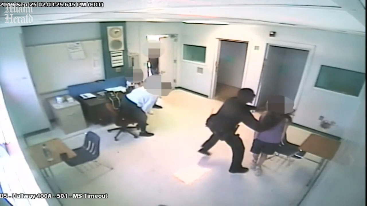 BSO deputy is charged with child abuse after video shows him slamming girl to floor