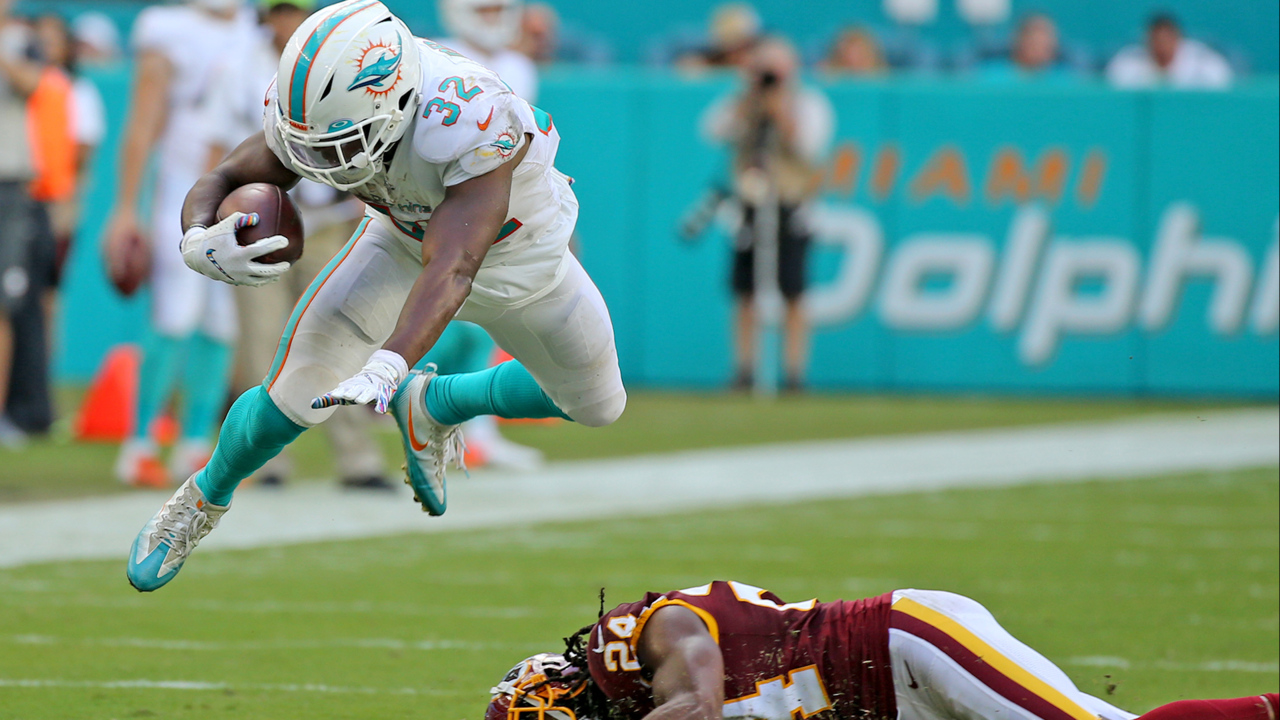 The odd marriage between Kenyan Drake and the Miami Dolphins