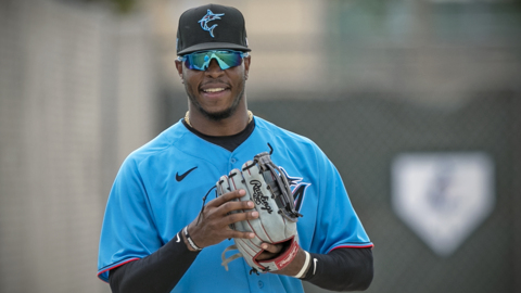 Monte Harrison still calls himself a 'cub,' but he's making a run at Marlins roster spot