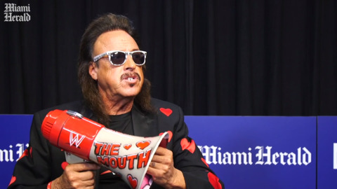 WWE Hall of Famer Jimmy Hart on WrestleMania 36 and his famous megaphone