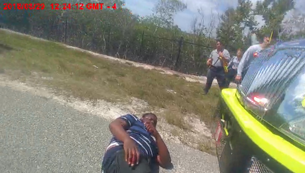 Video shows shooting after man grabs Miami-Dade cop's Taser