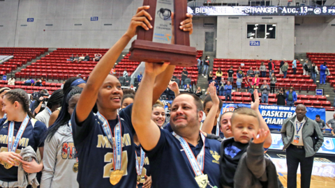 'It's not silver!' Miami High girls celebrate state title after 2 years of heartbreak