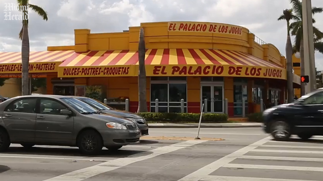 It's El Palacio de los Jugos vs. El Patio de los Jugos in a very Miami trademark lawsuit