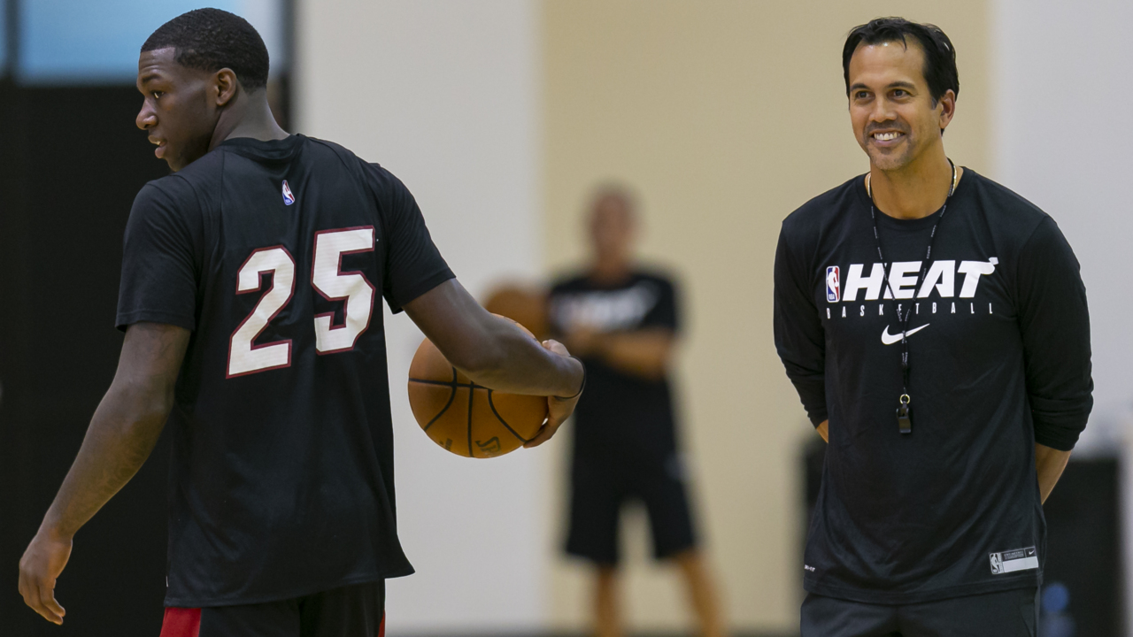 A healthy Dion Waiters means a lot of drives ... and threes? Here's why Spoelstra hopes so