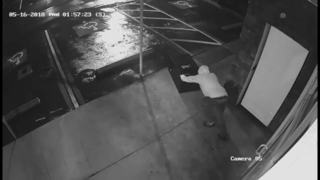 Florida Burglary Suspect Struggles With Safe, Caught by Police