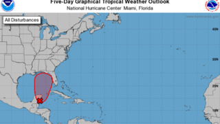 Tropical system has higher chances for developing according to NHC